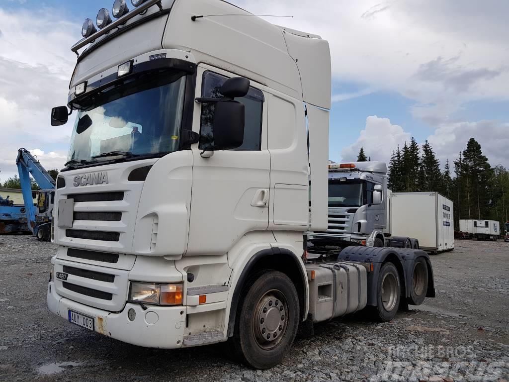 Scania R420 6X2 Dragbil