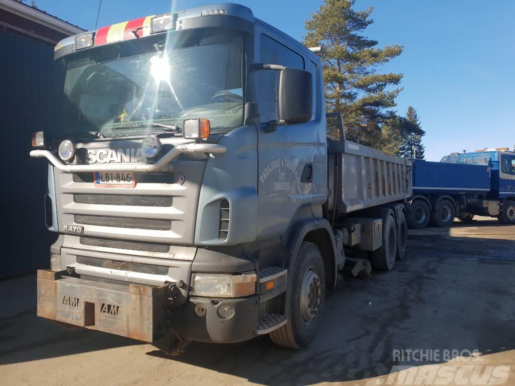 Scania R12LB6X4 410+135 TWIN