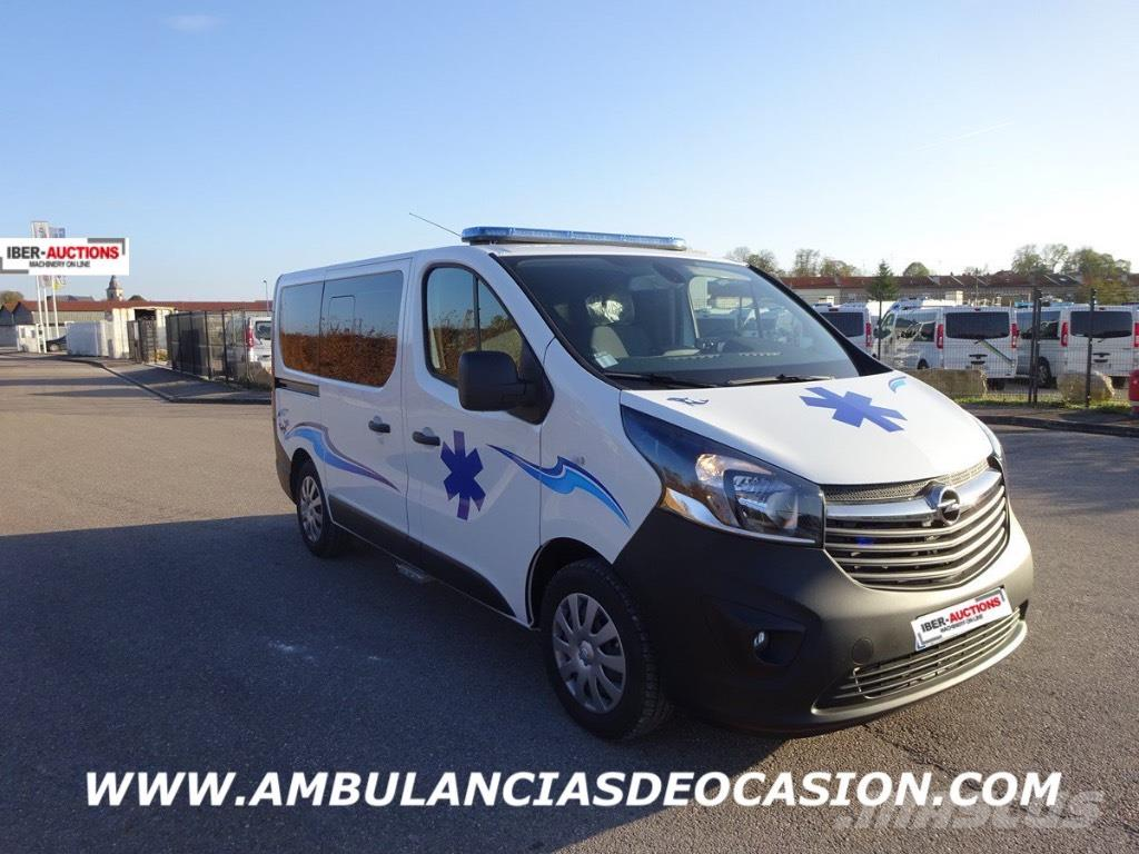 used ambulancia opel vivaro 2017 ambulances year 2017 for sale mascus usa. Black Bedroom Furniture Sets. Home Design Ideas