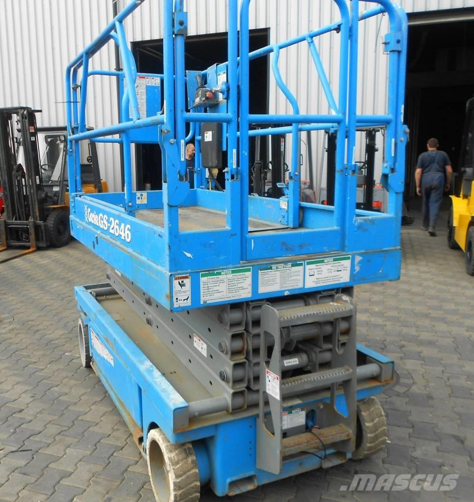 Genie GS-2646, 2000, Scissor lifts ...