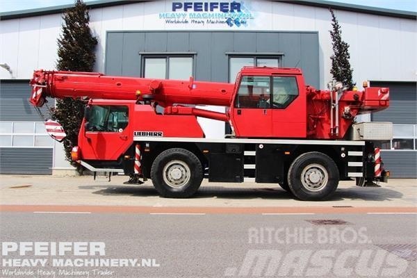 Liebherr LTM1030-2.1 Valid Inspection, 35t Capacity, Telma