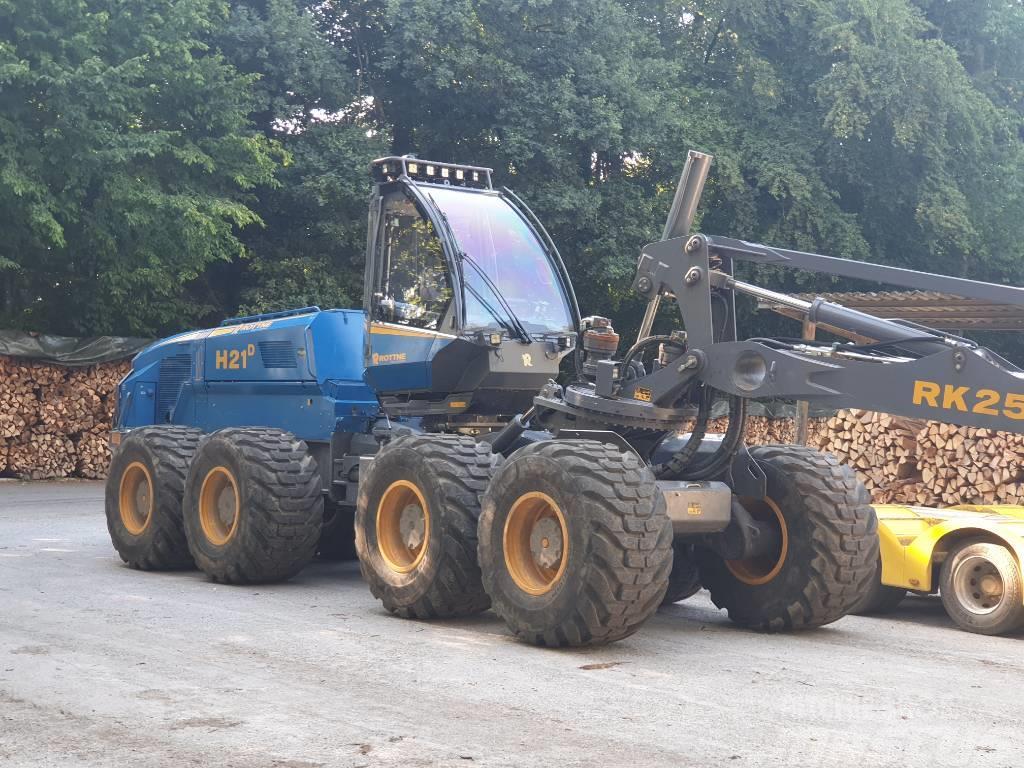 Rottne H21 mit LogMax 7000C - Gebrauchtmaschine