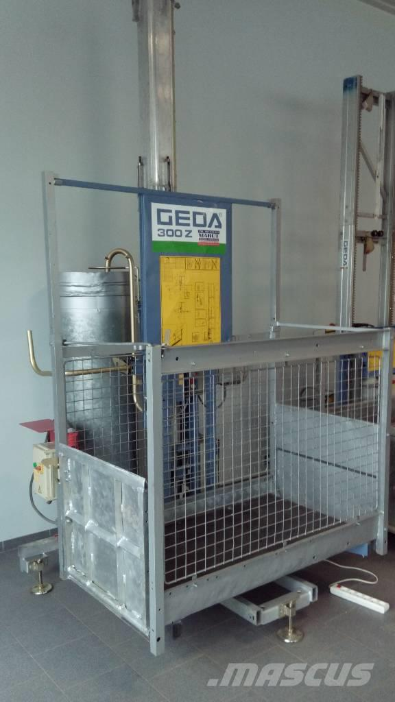 Used Geda 300 Z hoists and material elevators Year: 2001 for