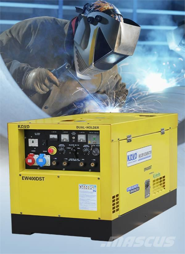 Used Kovo ENGINE DRIVEN WELDER EW400DST welding machines Year: 2013