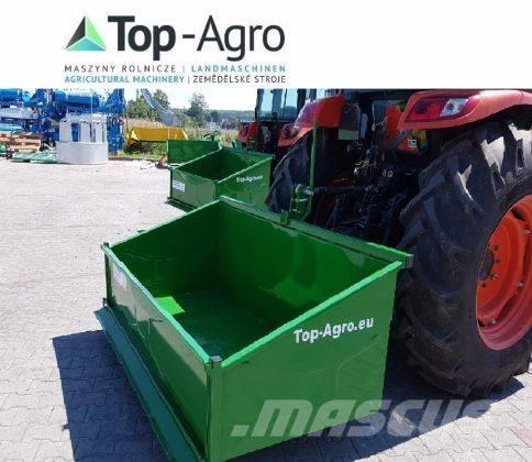 Top-Agro Transport box Premium, 1,2m mechanic, 2017