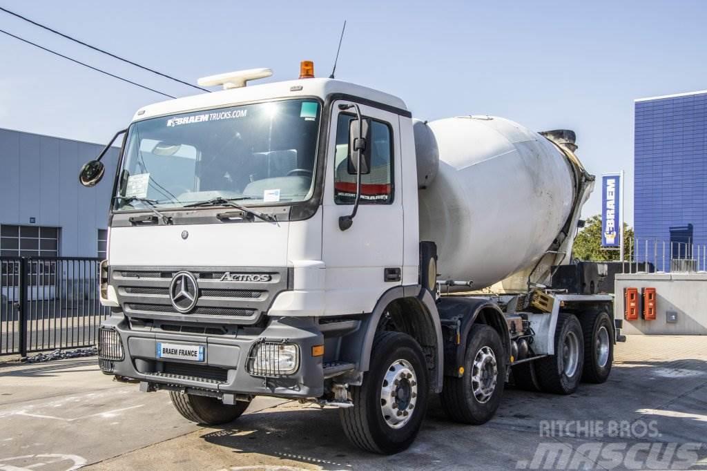 Mercedes-Benz ACTROS 3241 BB - MP2 + STETTER