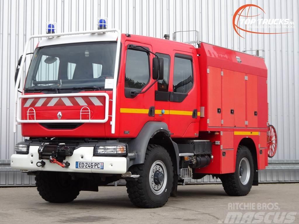Renault Midlum 220 DCI 4x4-Feuerwehr, Fire - Doppelcabine