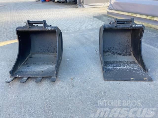 Klepp 400L graveskuff rett front eller Kvx M27  S50