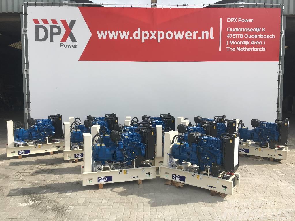 FG Wilson P 22-6 - 22 kVA Generator - DPX-16002-O - (5x)
