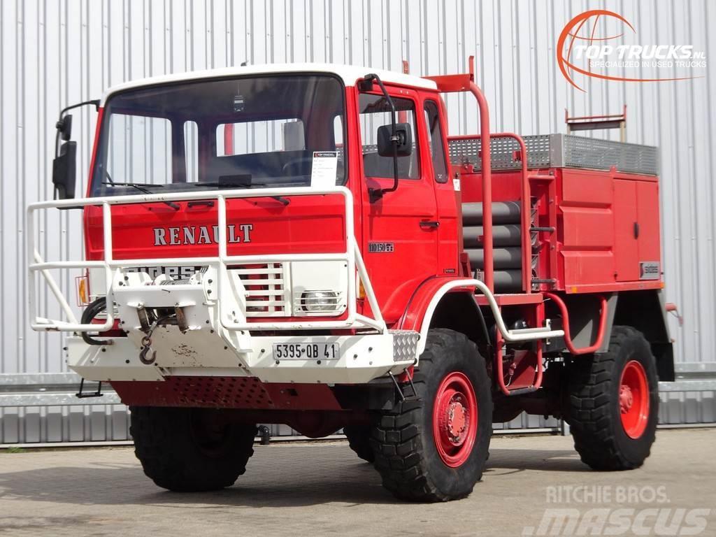 Renault 110-150 4x4 -Feuerwehr, Fire brigade -3.000 ltr wa
