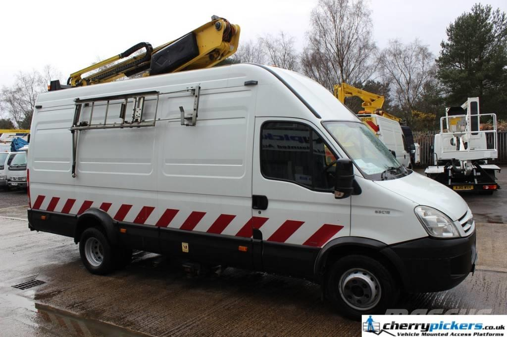 Iveco Daily 65C18 LWB Versalift 38NF - 14.5 Metre Access