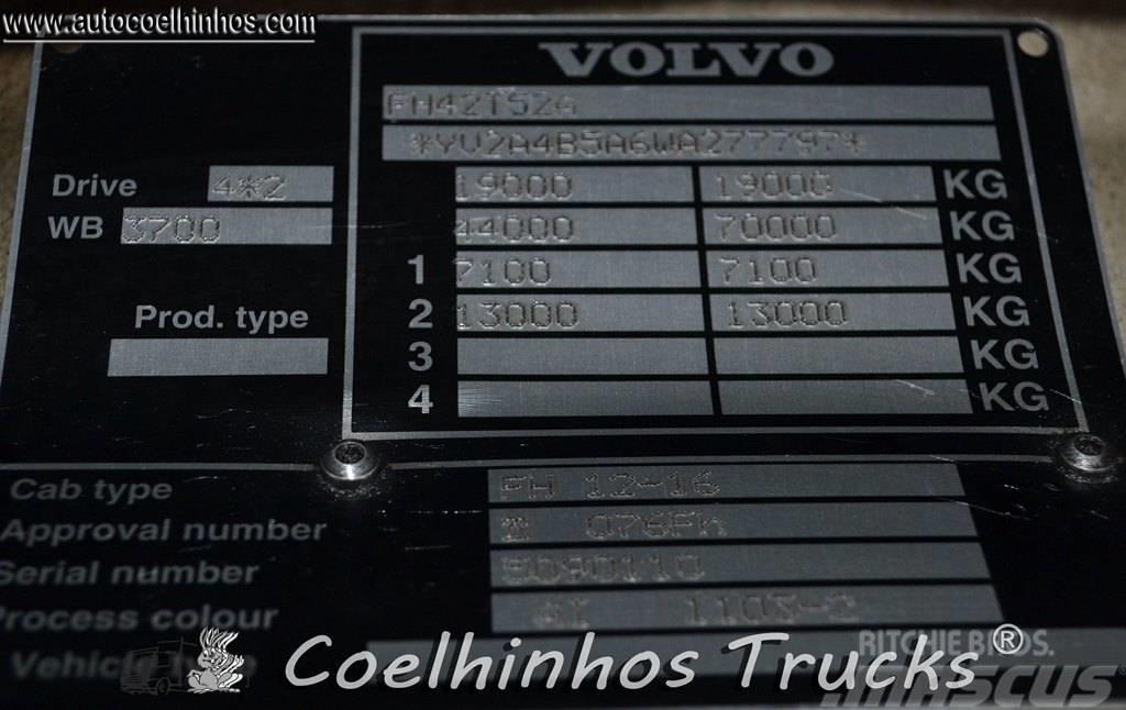 Volvo FH16 520  Globetrotter, 1998, Dragbilar