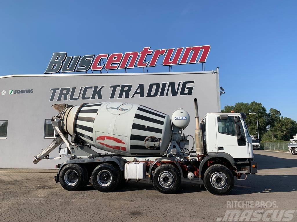 Iveco Trakker 380 8x4 CIFA 10 cbm