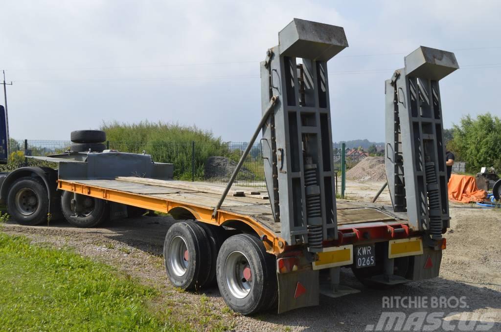 Zremb ND , 9 x 2,55m , hydraulic ramps , load 16.000kg