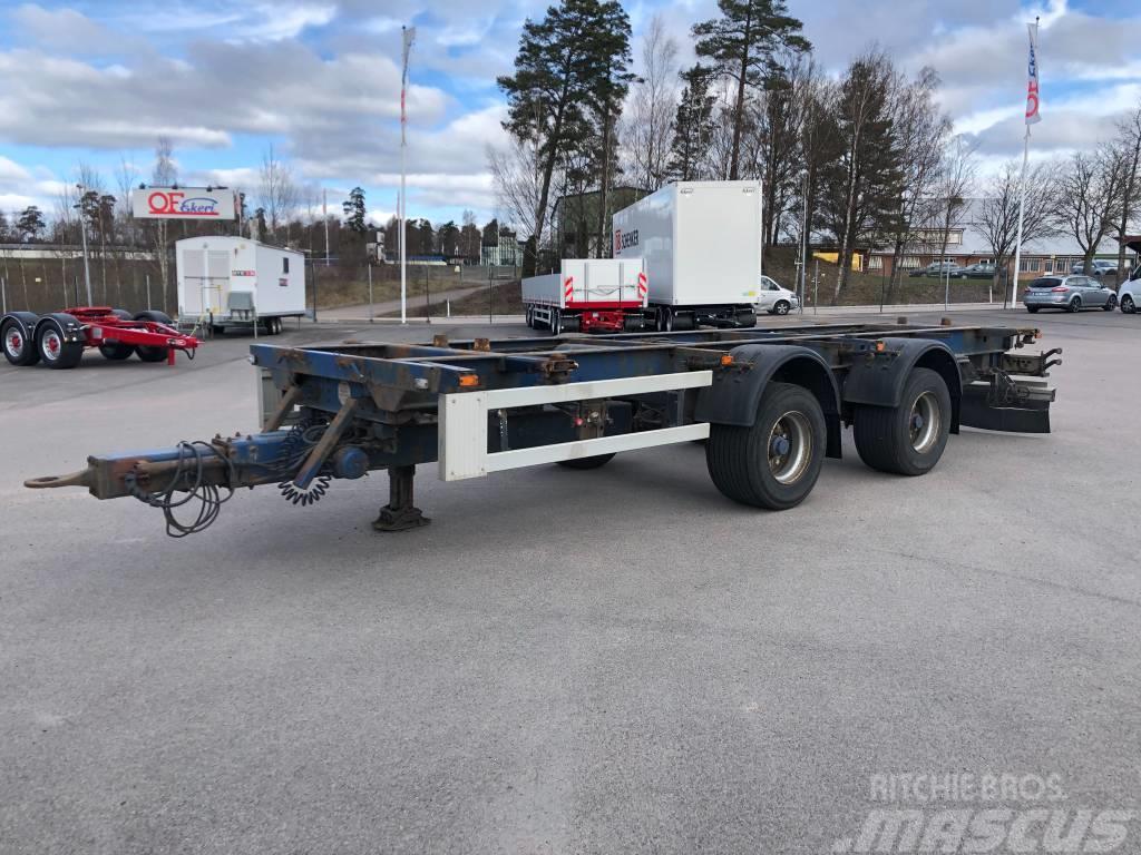 Krone Container-/Växelflakskärra