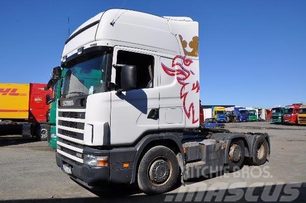 Scania 124 6X2 420