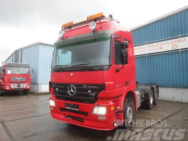 Mercedes-Benz ACTROS 3355S 6x4 FULL STEEL / LAMES / BLATT (EPS W