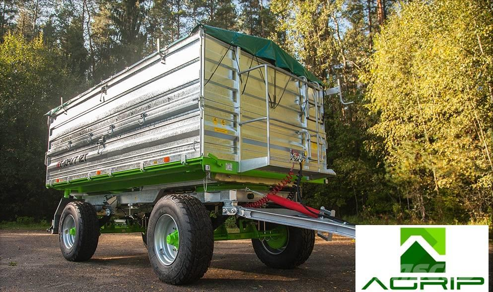 Agrip Trailers T-104-7 12tons / Stalldungst