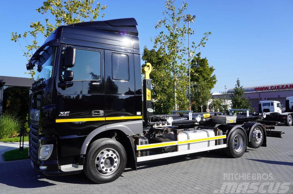 DAF XF460 6x2 Euro 6 / NEW HYVA 20 tons hook