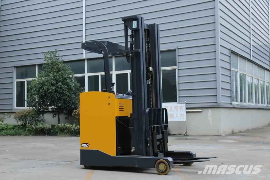UN Forklift FBR25 2.5T Stand-on Reach Truck with Mast 6000mm