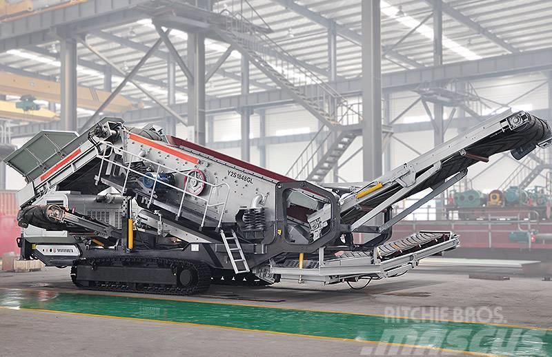 Liming 50-200 tph crawler type mobile crushing plant