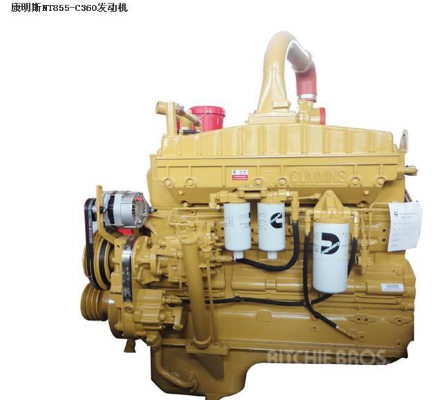 Cummins двигатель NTA855-C360 CUMMINS