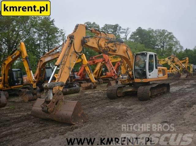 Liebherr R 906 FIAT HITACHI EX 165 CAT 318 JCB JS 210 JZ235