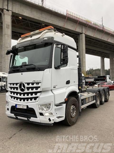 Mercedes-Benz Arocs 3251 L 8X4 - Lastväxlare