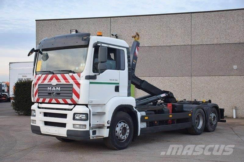 MAN TGA 26.350 6X2 CONTAINER SYSTEEM- CONTAINER SISTEE