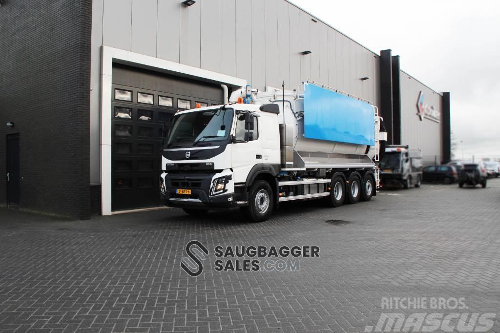 Volvo FM 34 TR 8x4 Amphitec Vortex 2020 Saugbagger vacuu