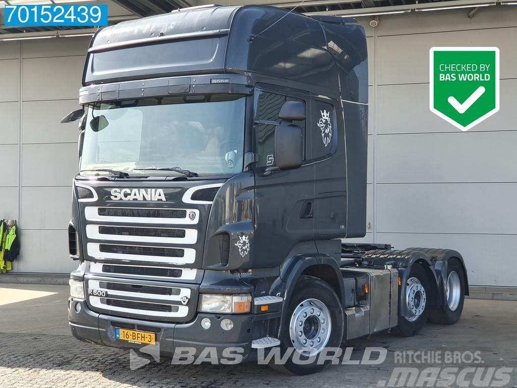 Scania R500 6X2 Manual Lift+Lenkachse Navi Euro 4