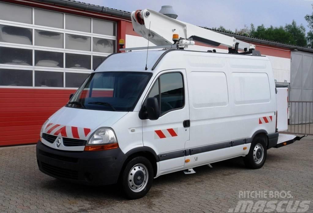 Renault Master 120dCi Hubarbeitsbühne 10m TÜV UVV!