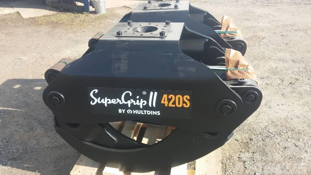 Hultdins SuperGrip II 420 S Rundholzgreifer