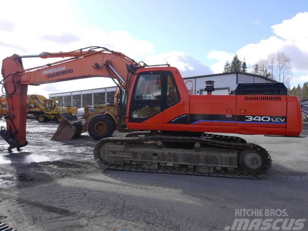 Daewoo 340 LCV Price: €38,000, 2005 - Crawler excavators - Mascus