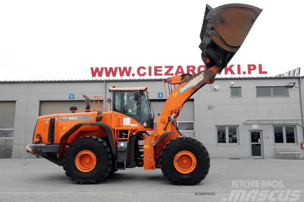 Doosan Dl 550-3 , 32t , Long Reach , hydraulic bucket