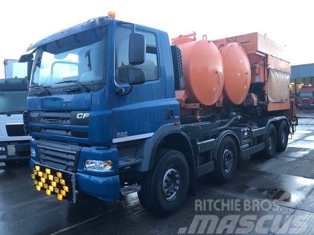 DAF CF 85.410 8X4 BITUM MANUAL - ONLY 8509KM