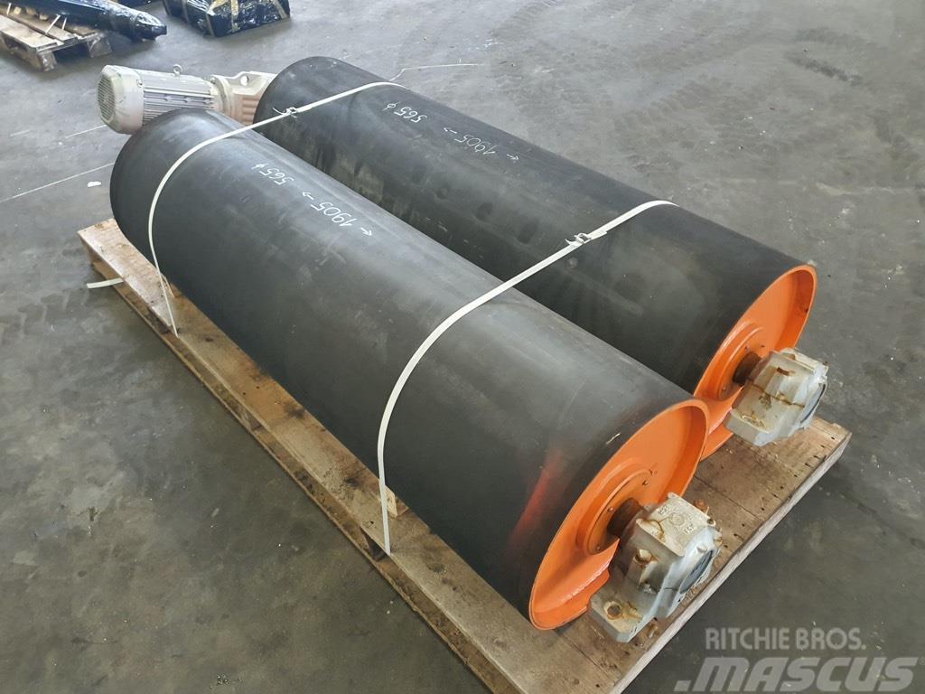 Sandvik rolka ogumowana napędowa 2000mm