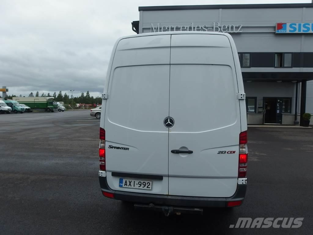 used mercedes benz sprinter 213 cdi panel vans year 2007 price 10 234 for sale mascus usa. Black Bedroom Furniture Sets. Home Design Ideas