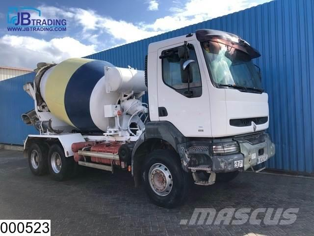 Renault Kerax 300 6x4, 7000 Liter, Steel suspension, Manua