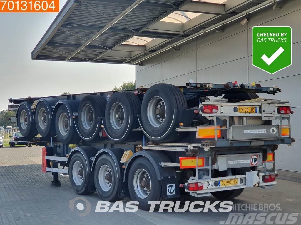 Van Hool Package of 3 3 axles ADR 1x 20 ft 1x30 ft Liftachs