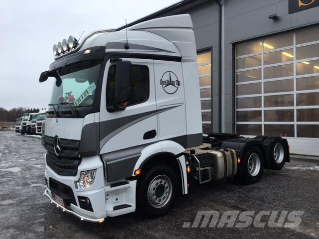 Used Mercedes-Benz Actros 2853 tractor Units Year: 2017 Price: US ...