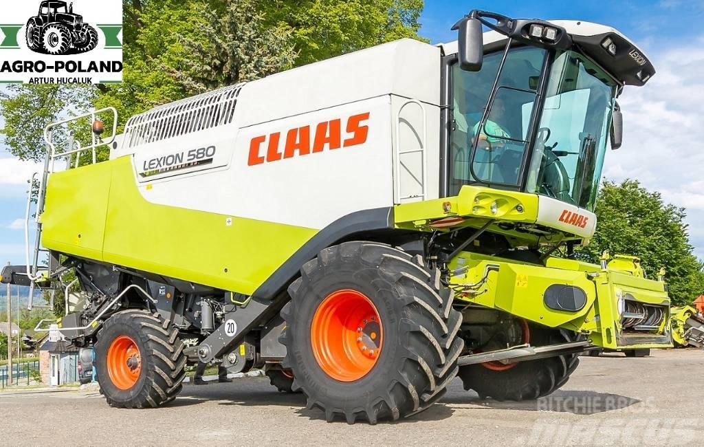 CLAAS LEXION 580 - 1195 h - 530 KM - 2008 - V900 - LASE