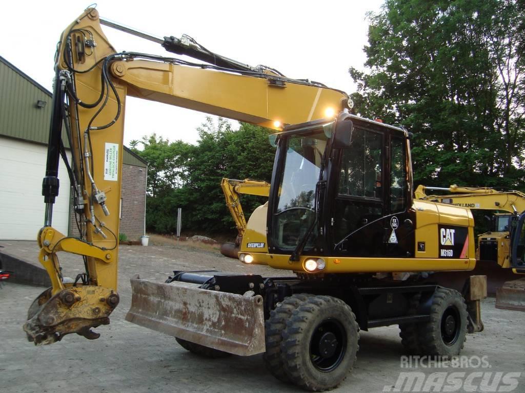 Caterpillar M 316 D (Top condition, full options, 2 piece boom