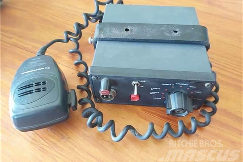 [Other] Other Emergency Hazard Warning Siren System Radio