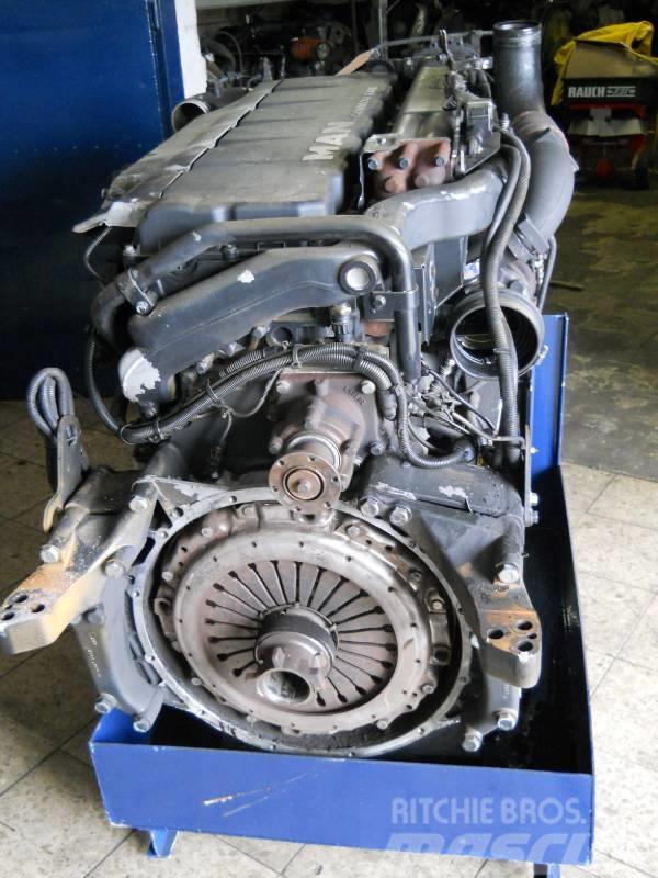 MAN D2066LF04 / D2066 LF 04, 2003, Motorer