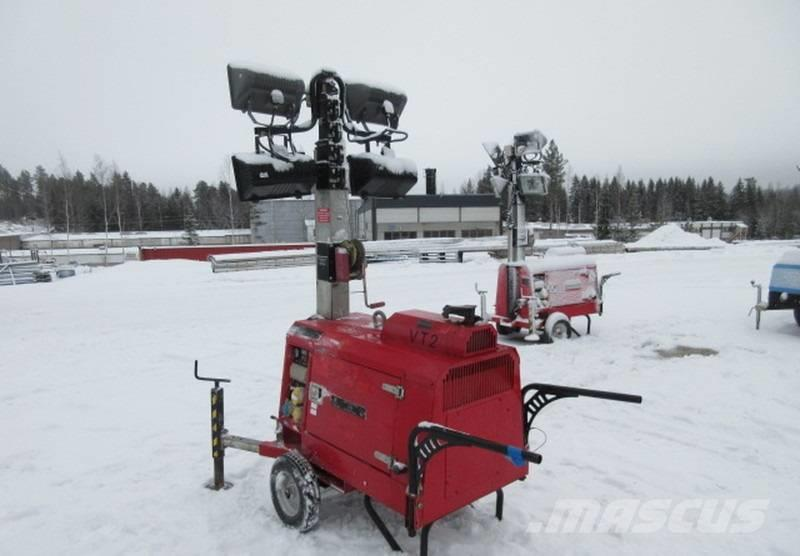 Towerlight VT2 diesel valomasto aggregaatti (Q05)