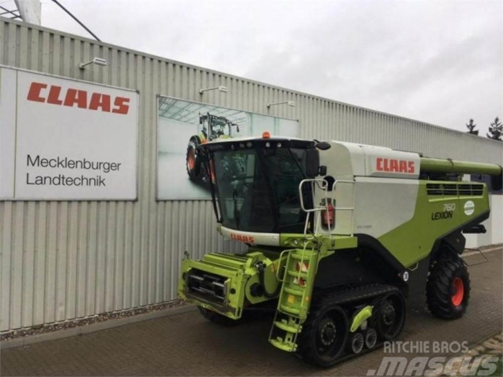 CLAAS Lexion 760 TerraTrac