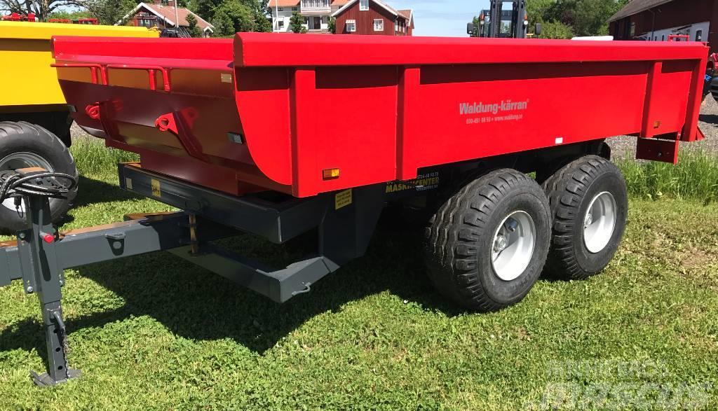Waldung 7 ton för traktorgrävare extrautrustad
