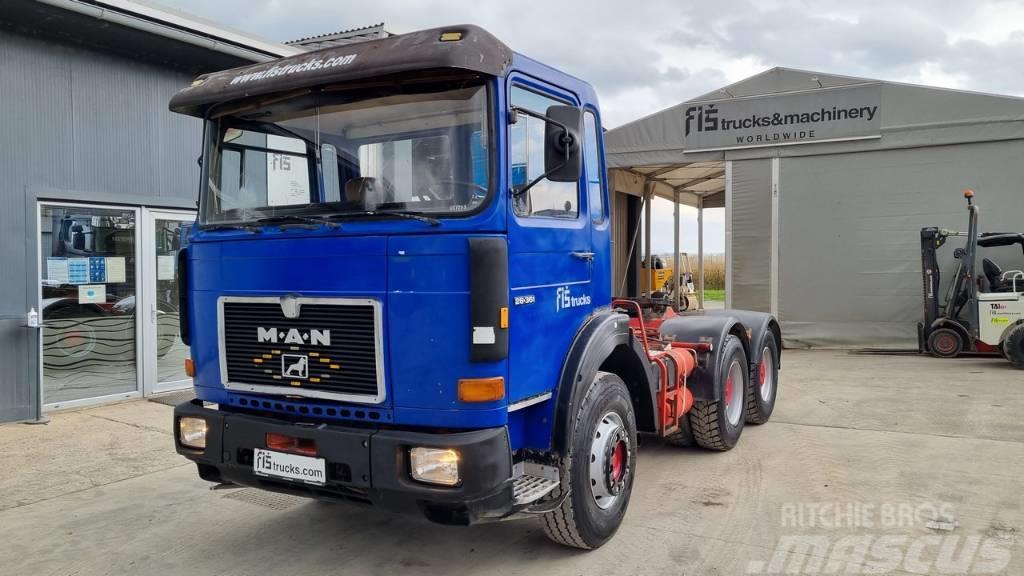 MAN 26.361 6x4 tractor unit - tipp. hyd.