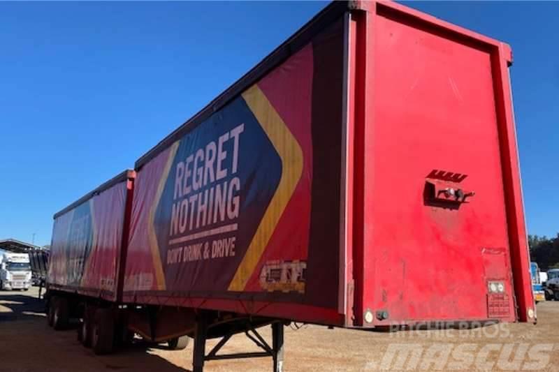 Sa Truck Bodies 7/11 Interlink A Frame Beverage Tautliner Trailer